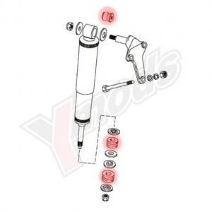 Kit de silentblock amortiguadores traseros