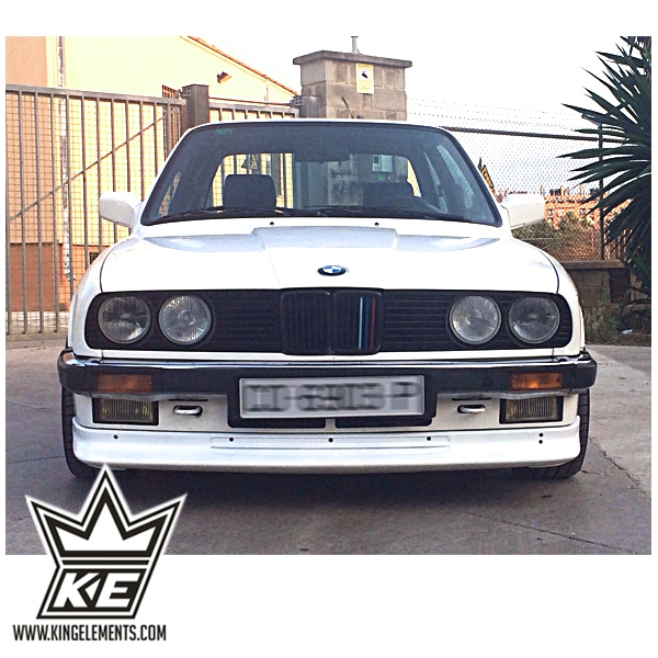 BMW e30 Jimmy Hill front lip spoiler - King Elements