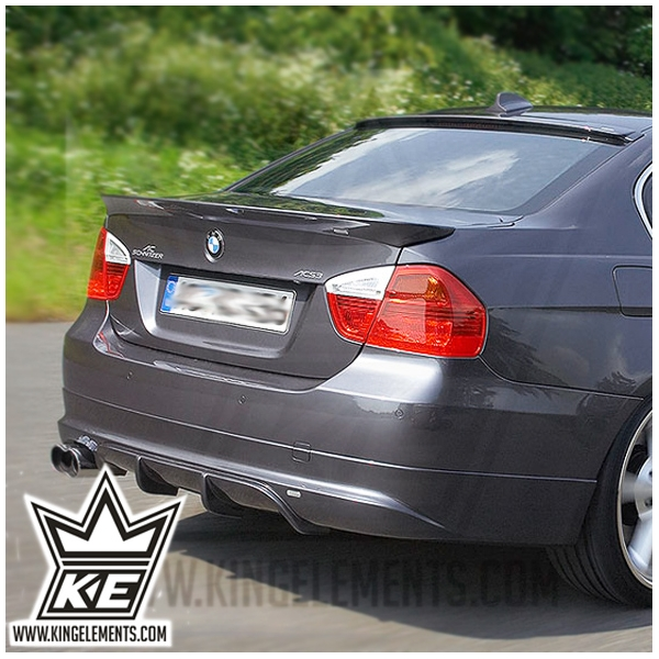 BMW e90 AC SCHNITZER style roof spoiler - King Elements