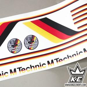 Pegatinas M-technic BMW e30 GERMAN STYLE