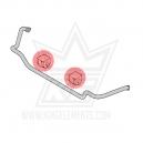 BMW e46 barra estabilizadora delantera